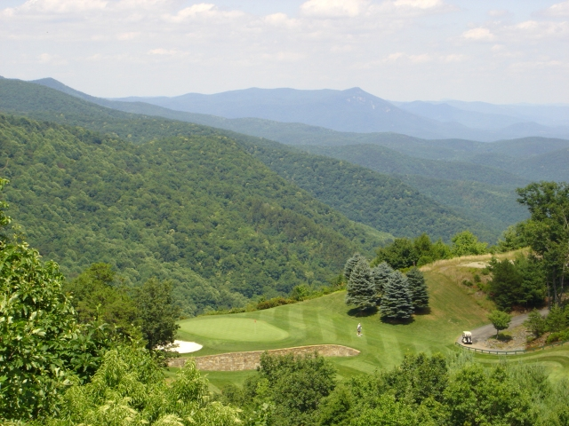 NC Mountains-golf