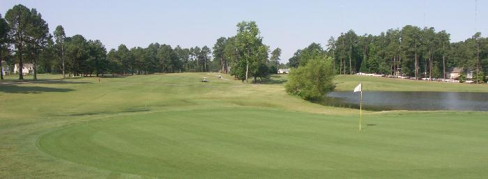 Pine Hollow Golf Hole