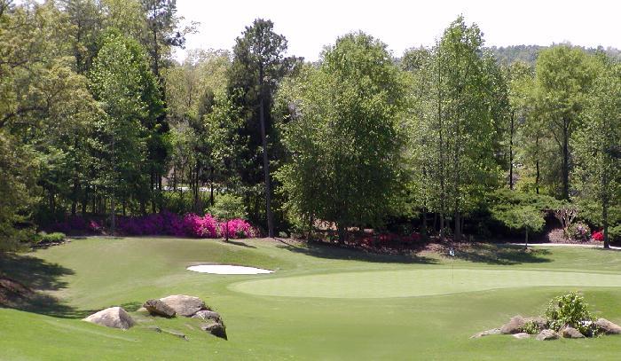Shelby Golf Course hole